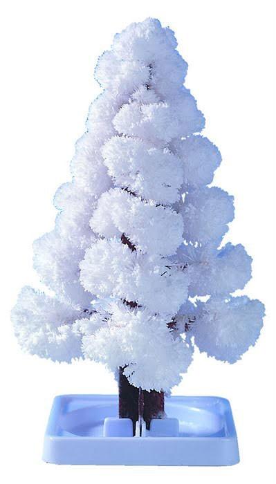 Волшебные кристаллы Ёлочка белая
