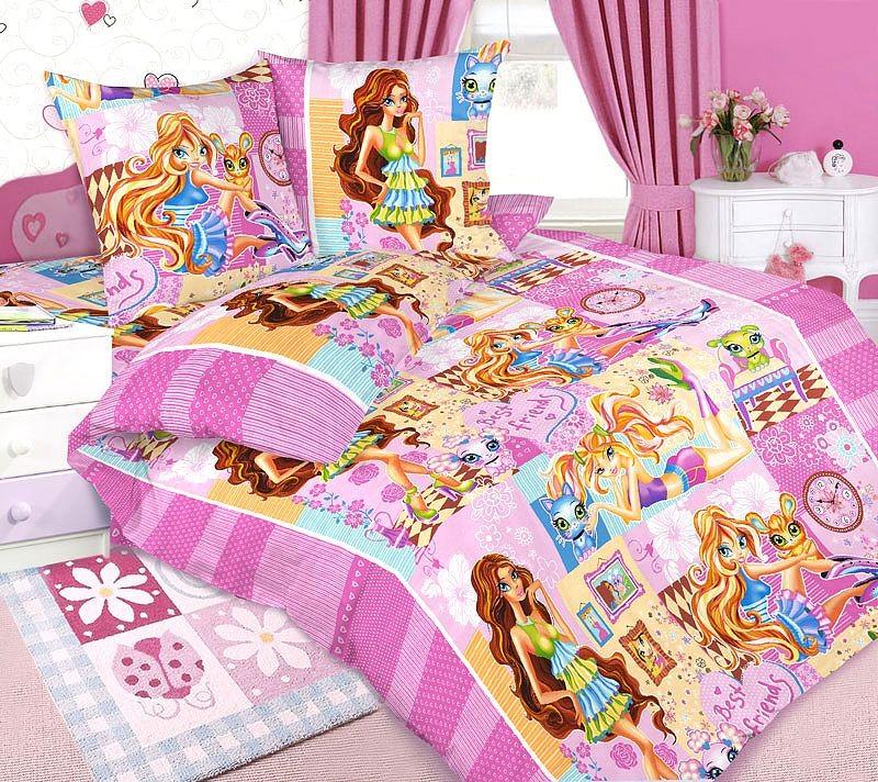 Комплект постельного белья Любимчики (бязь)