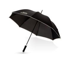 Черный полуавтоматический зонт-трость Slazenger