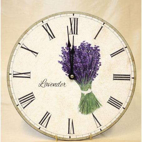 Настенные часы «Букет лаванды»