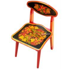 Детский разборный стул с росписью Детство