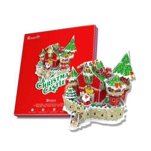 3D пазл Cubic Fun Сказочный рождественский замок