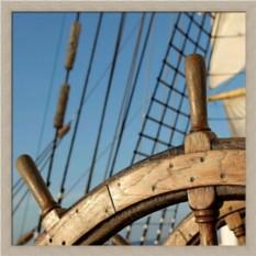 Постер Морские путешествия. Штурвал