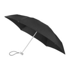 Механический складной зонт Alu Drop (цвет - черный)