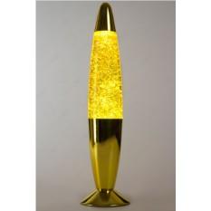 Лава-лампа (цвет — желтый с мелкими блёстками)