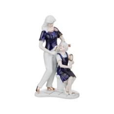 Статуэтка Мама с дочкой, высота 25 см