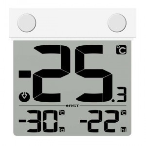 Электронный уличный термометр