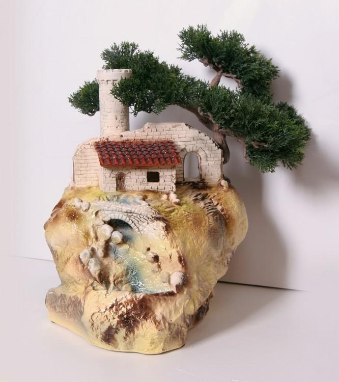 Настольный фонтан Сторожевая башня