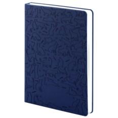 Синий ежедневник «Эрмитажные коты»