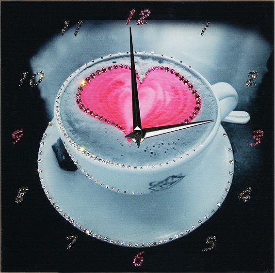 Часы с кристаллами сваровски Напиток любви