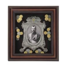 Настенное панно Монеты Николай II