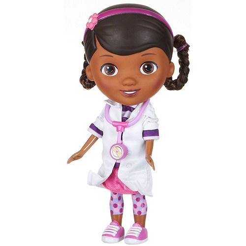 Мягкая игрушка Doctor Plusheva Дотти со стетоскопом, 22 см.