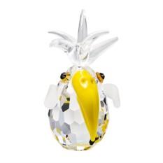 Хрустальная статуэтка Желтый попугай Кая