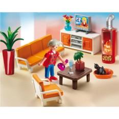 Конструктор Playmobil Dollhouse Кукольный дом: гостиная
