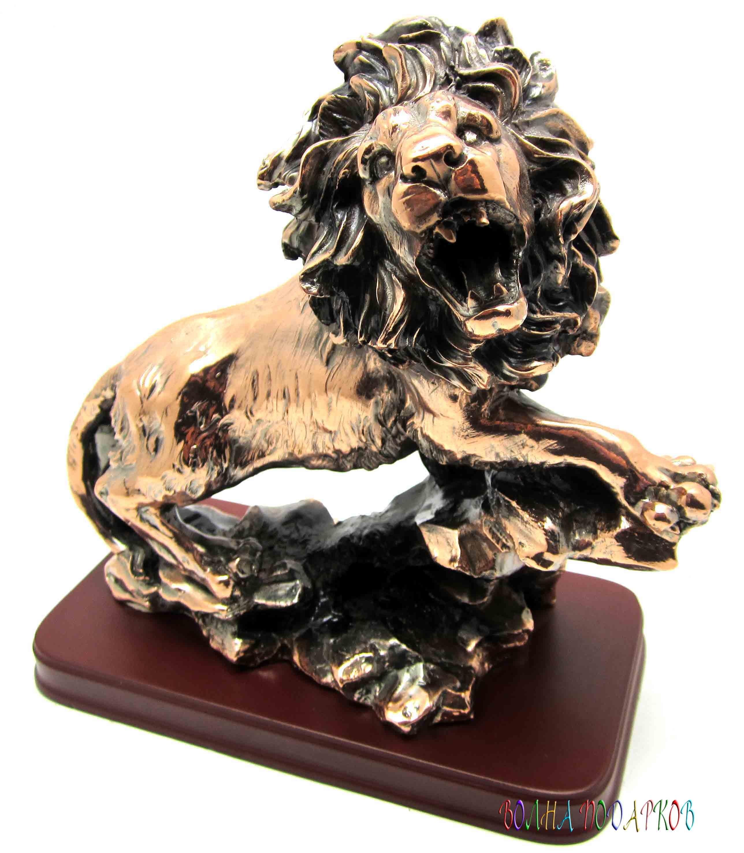 Статуэтка Грозный лев