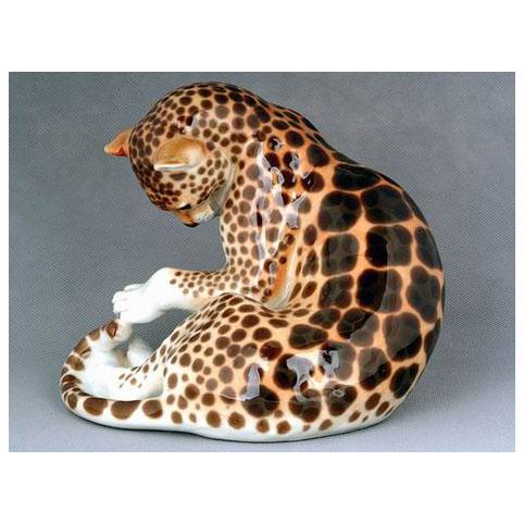 Анималистическая скульптура «Леопард»
