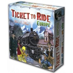 Настольная игра Ticket to Ride Europe