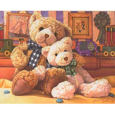 Набор «Теплые и мохнатые медведи»