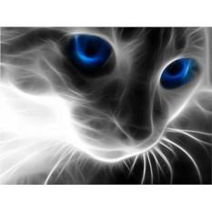 Алмазная вышивка «Кошачий взгляд»