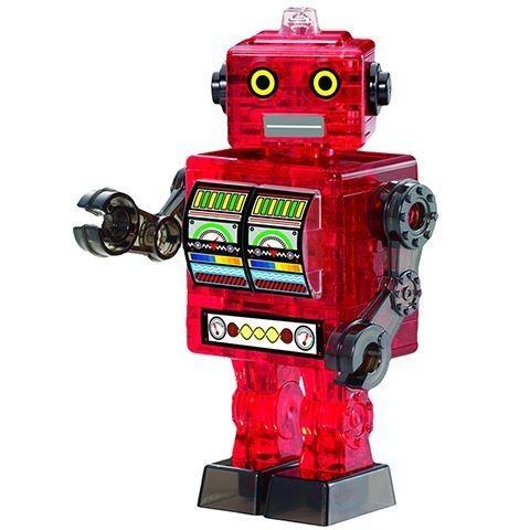 3D головоломка Красный робот