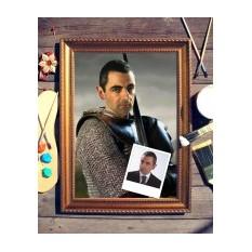 Портрет по фото Рыцарь