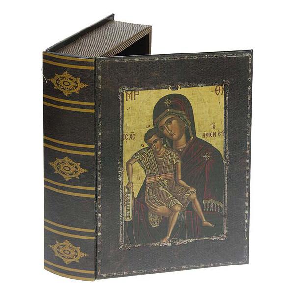 Набор шкатулок-фолиантов «Богородица Милующая»