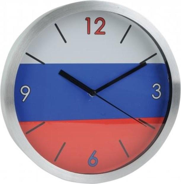 Настенные часы «Российский флаг»