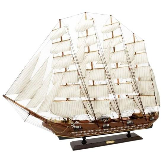 Большая модель корабля Фрегат XVIII века