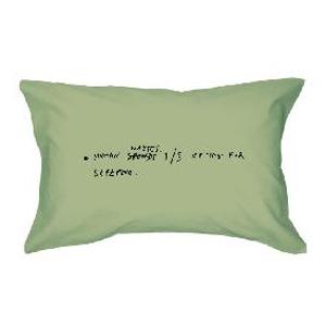 Наволочка «Человек теряет 1/3 жизни на сон»