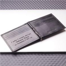 Портмоне с зажимом для денег и отделением для карт S.Quire
