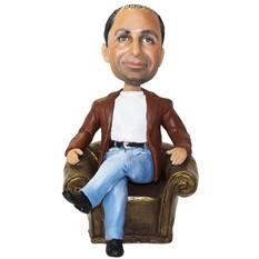Портретная статуэтка Начальник в кресле