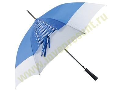 Зонт-трость со шнуровкой