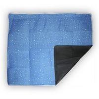 Кемпинговый коврик синий