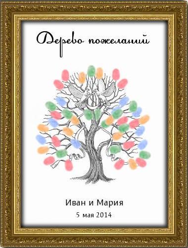 Дерево пожеланий Свадьба