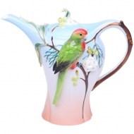 Оригинальный заварочный чайник «Попугай»