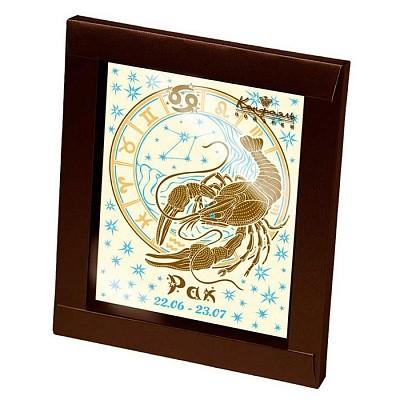 Шоколадная открытка Знаки зодиака - Рак