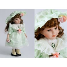 Коллекционная фарфоровая кукла Саманта