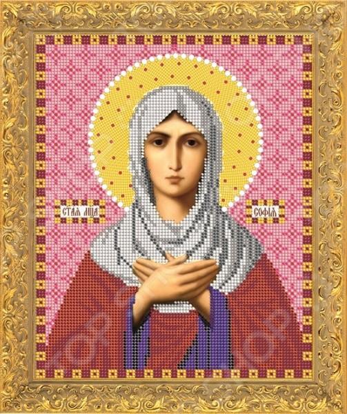 Набор для вышивания бисером «Святая мученица София»