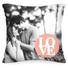 Подушка с Вашим фото «Любовь»