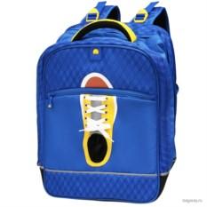 Светло-синий рюкзак Delsey Back to school