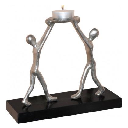 Скульптура - подсвечник Единство