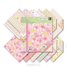Набор бумаги для скрапбукинга K&Company Для девочки, 36 листов