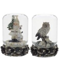 Декоративный сувенир в стеклянном шаре