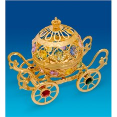 Фигурка-шкатулка с кристаллами Swarovski Карета