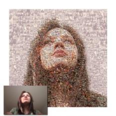 Фотомозаика портрета по фото