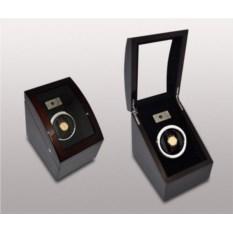 Темно-коричневая шкатулка для часов с автоподзаводом