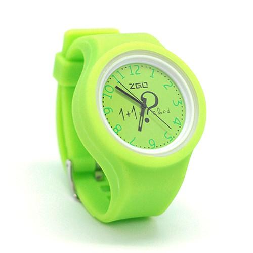 Часы Arithmetic (салатовые)