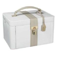 Белая шкатулка для драгоценностей LC Designs