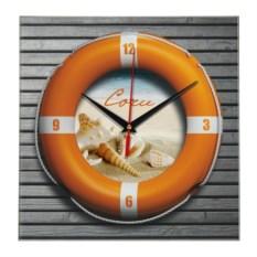 Настенные 3D-часы «Спасательный круг. Сочи»