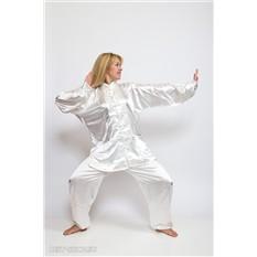 Белый костюм тайцзи, цигун, ушу, кунг-фу